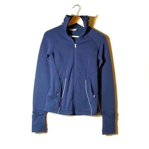 Athleta | Navy Zip Up Jacket